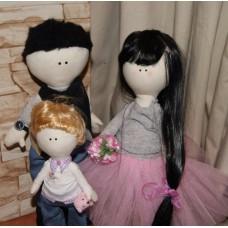 Инкрустация, интерьерные куклы
