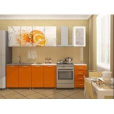 Кухня 2м Апельсин